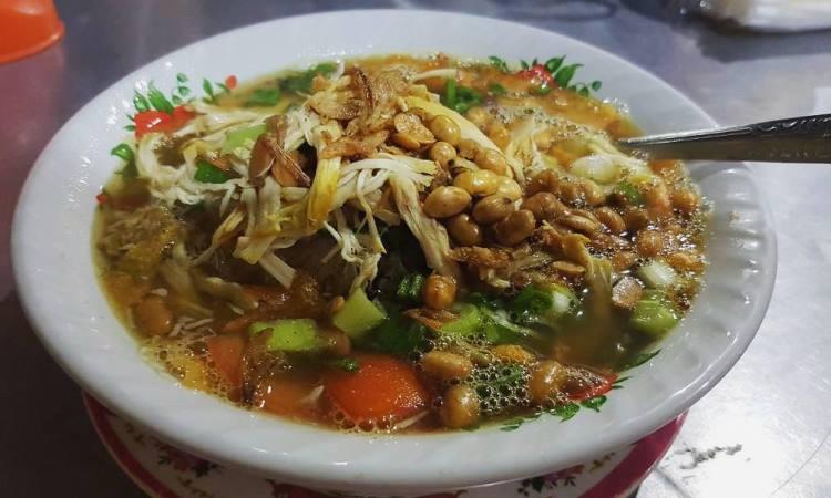 Bubur Sop Ayam Mang Kapi