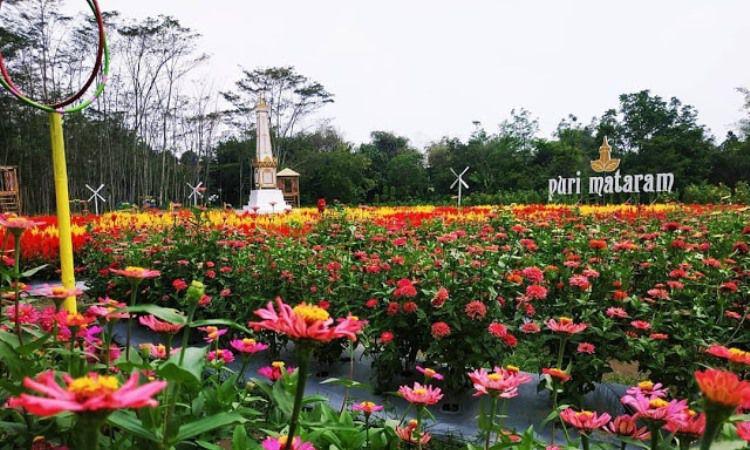 Taman Bunga Puri Mataram