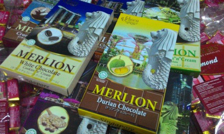 Coklat Merlion