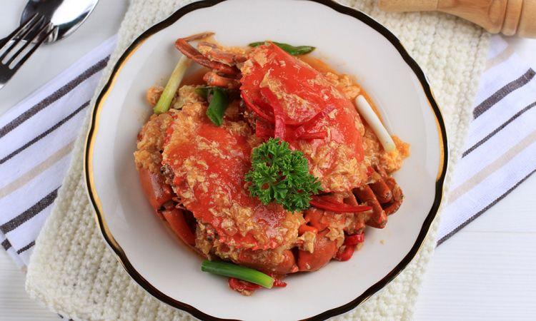 Kepiting Saus Singapura