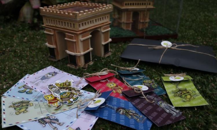 Miniatur Simpang Lima Gumul