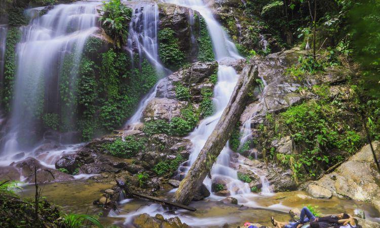 Air Terjun Talang Kemulun