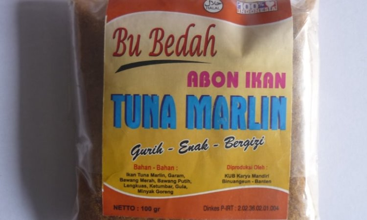Abon Ikan Marlin