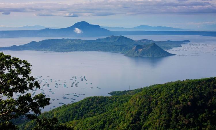 Gunung Taal Volcano