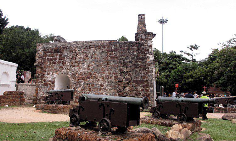 Benteng A'Famosa in Melaka