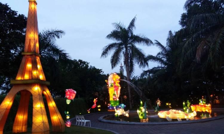 Mahakam Lampion Garden