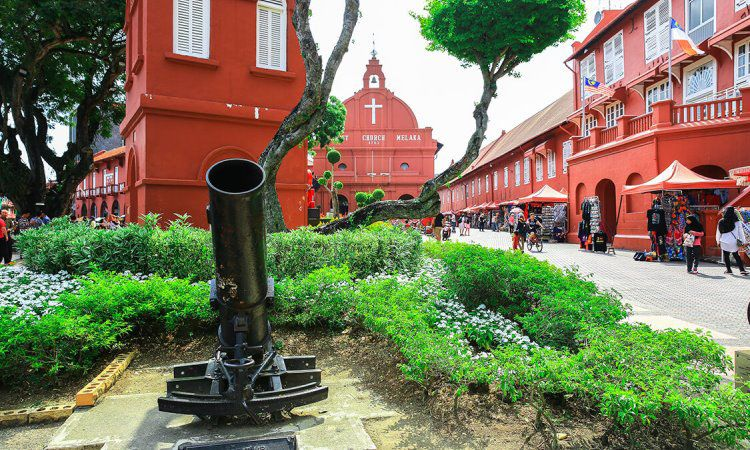 Stadthuys in Malacca