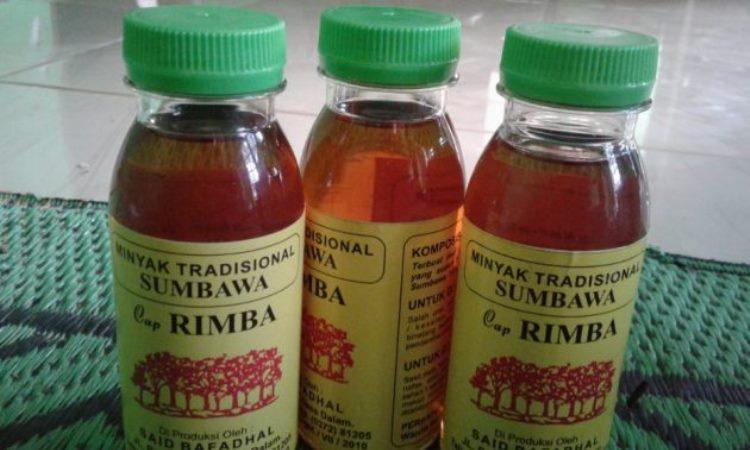 Minyak Gosok Khas Sumbawa