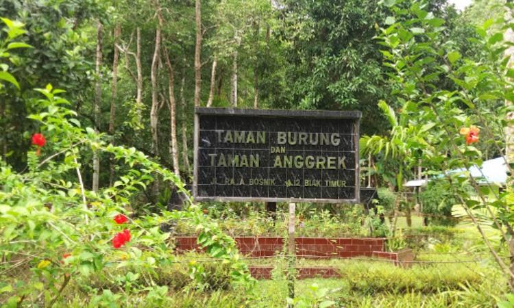 Taman Burung dan Taman Anggrek Biak