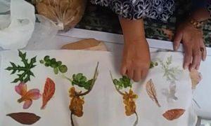 Kerajinan Batik Ecoprint