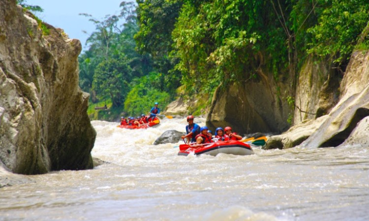 Arung Jeram Sungai Binjai