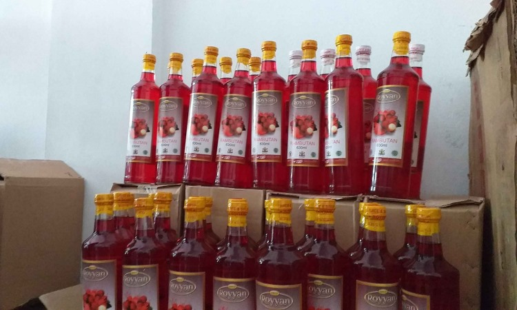 Sirup Rambutan